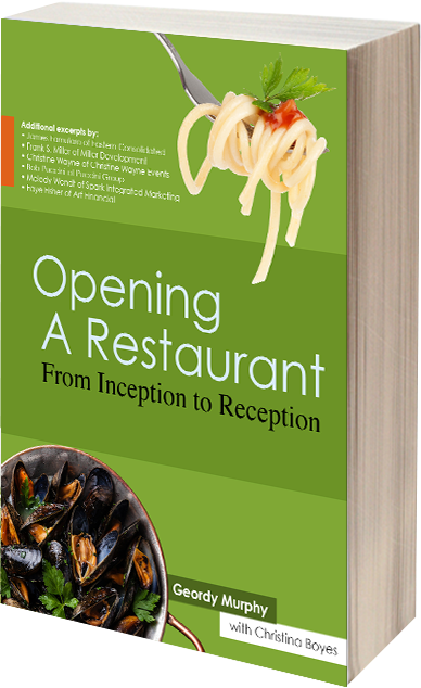 Opening a Restaurant From Inception to Reception book